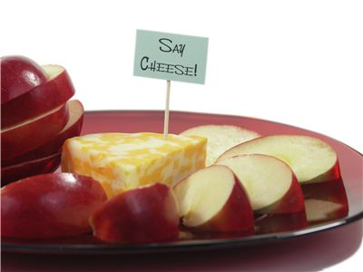 Picture Of Apple And Cheese