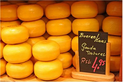 Picture Of Fresh Dutch Gouda Cheese