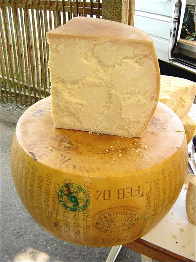 Picture Of Parmesan Cheese