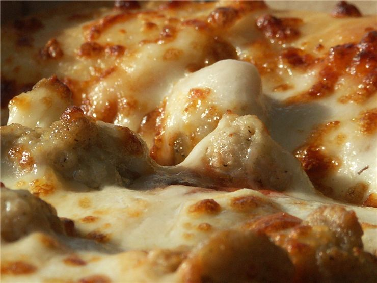 Picture Of Pizza Cheese